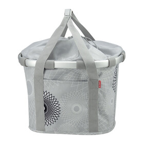 KlickFix Reisenthel Bikebasket crystals-light grey